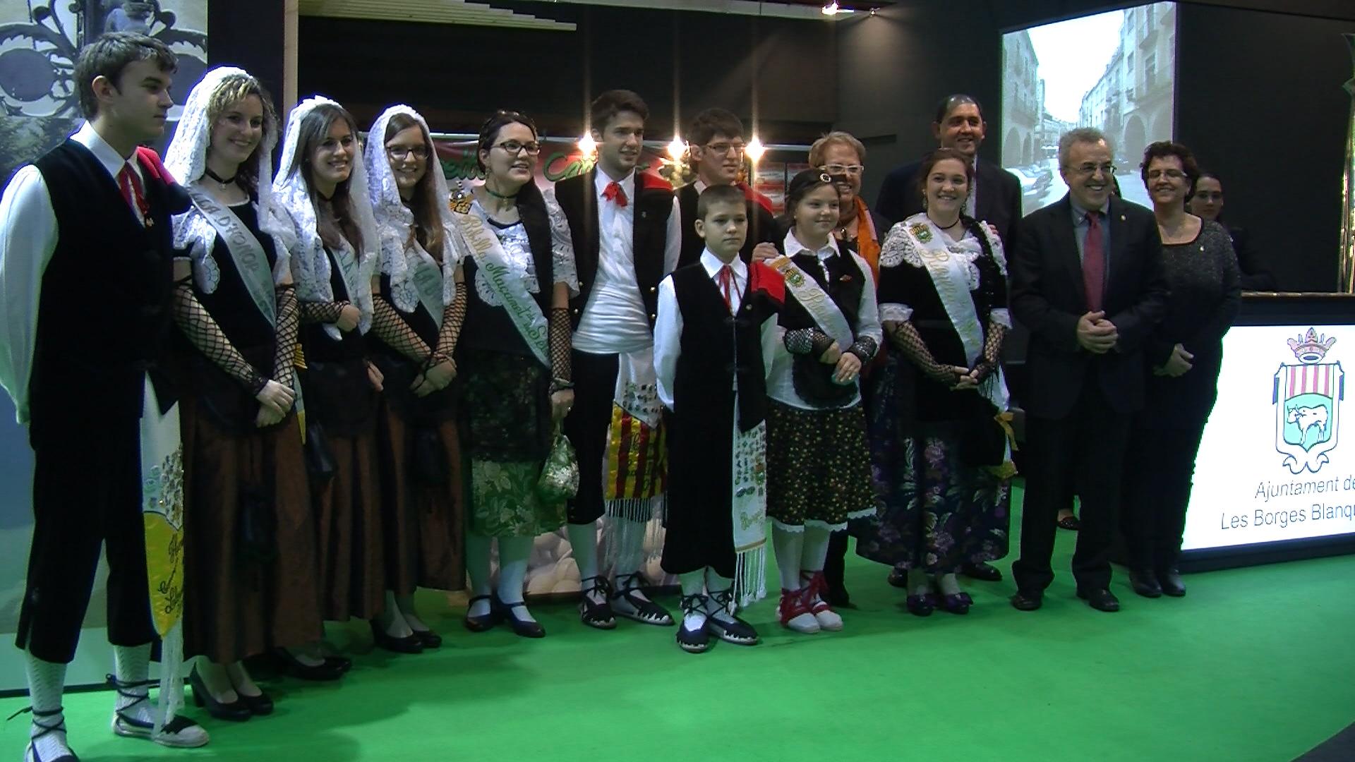 Visita Pubillatge de Catalunya a la Fira