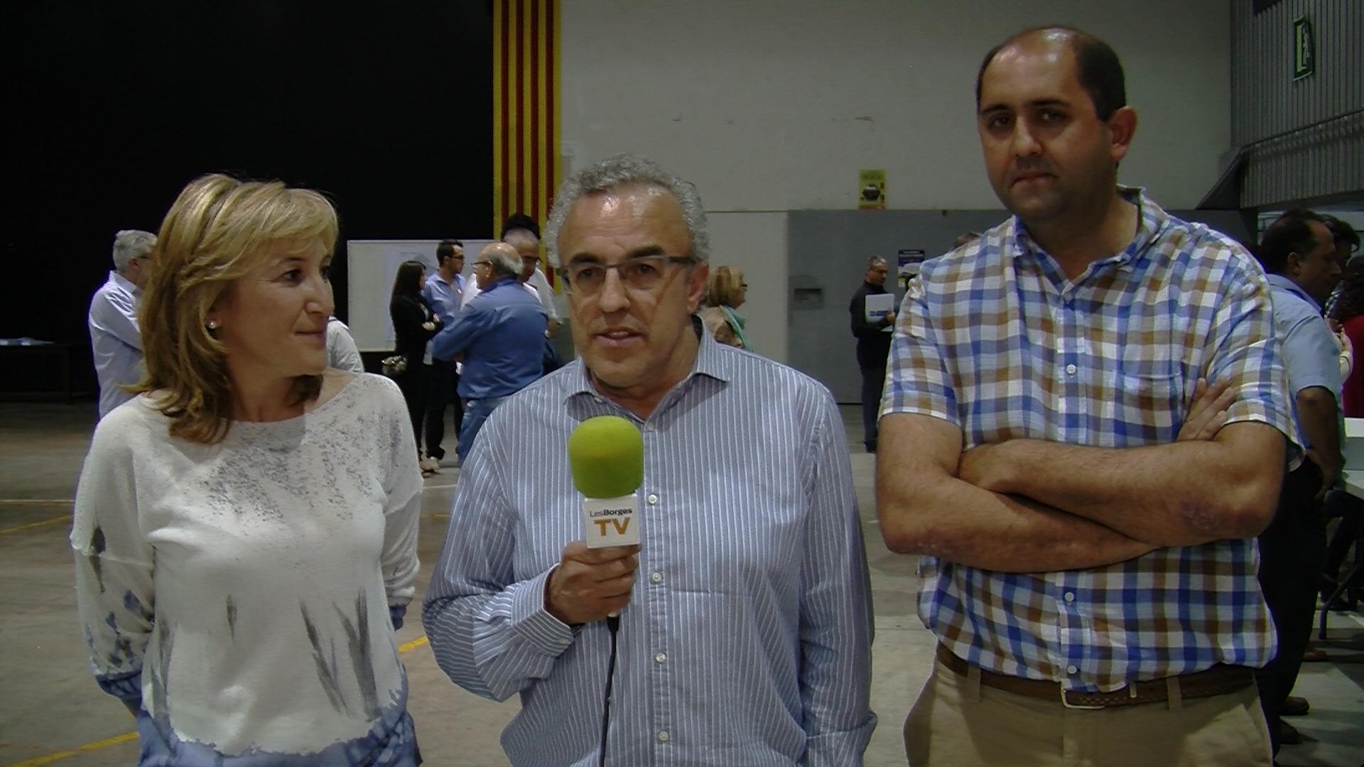 Presentació de la candidatura d'ERC