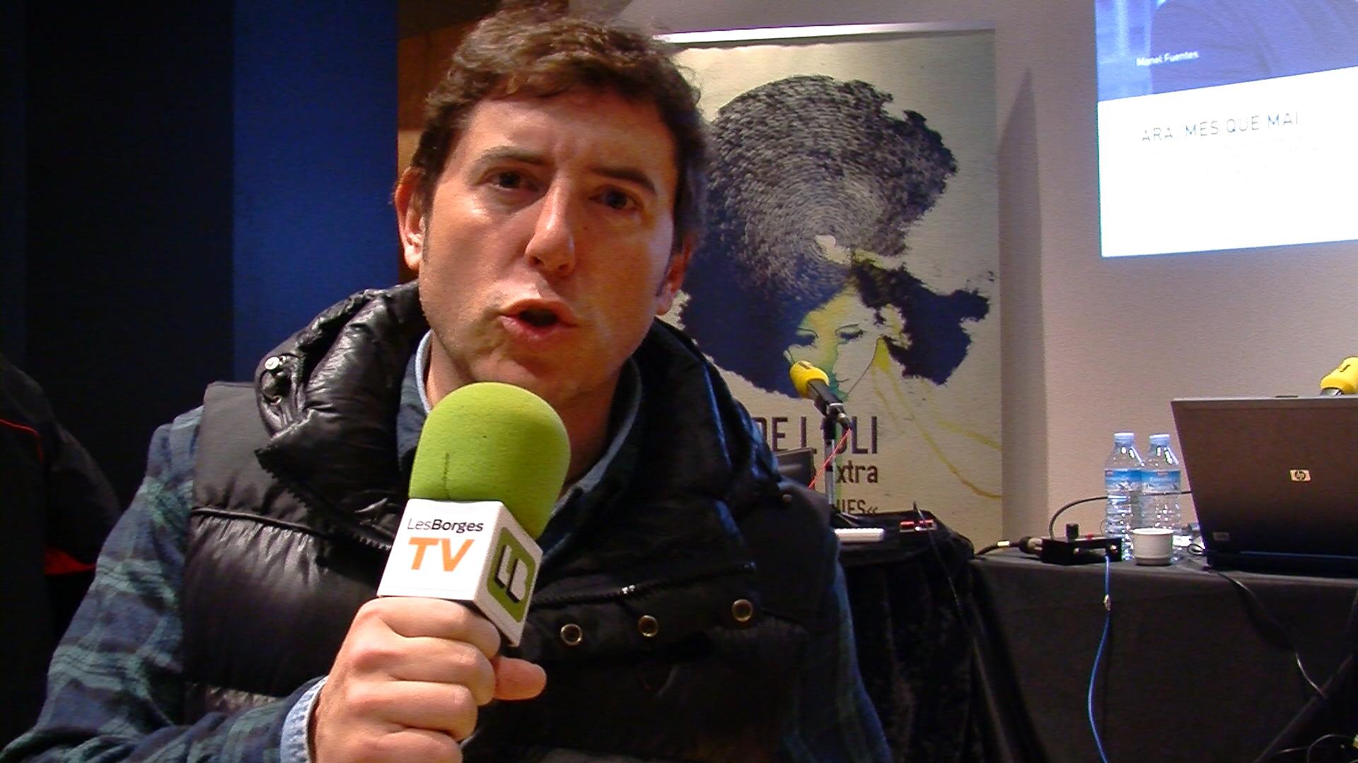Salutació Manel Fuentes des del programa El Matí de Catalunya Ràdio
