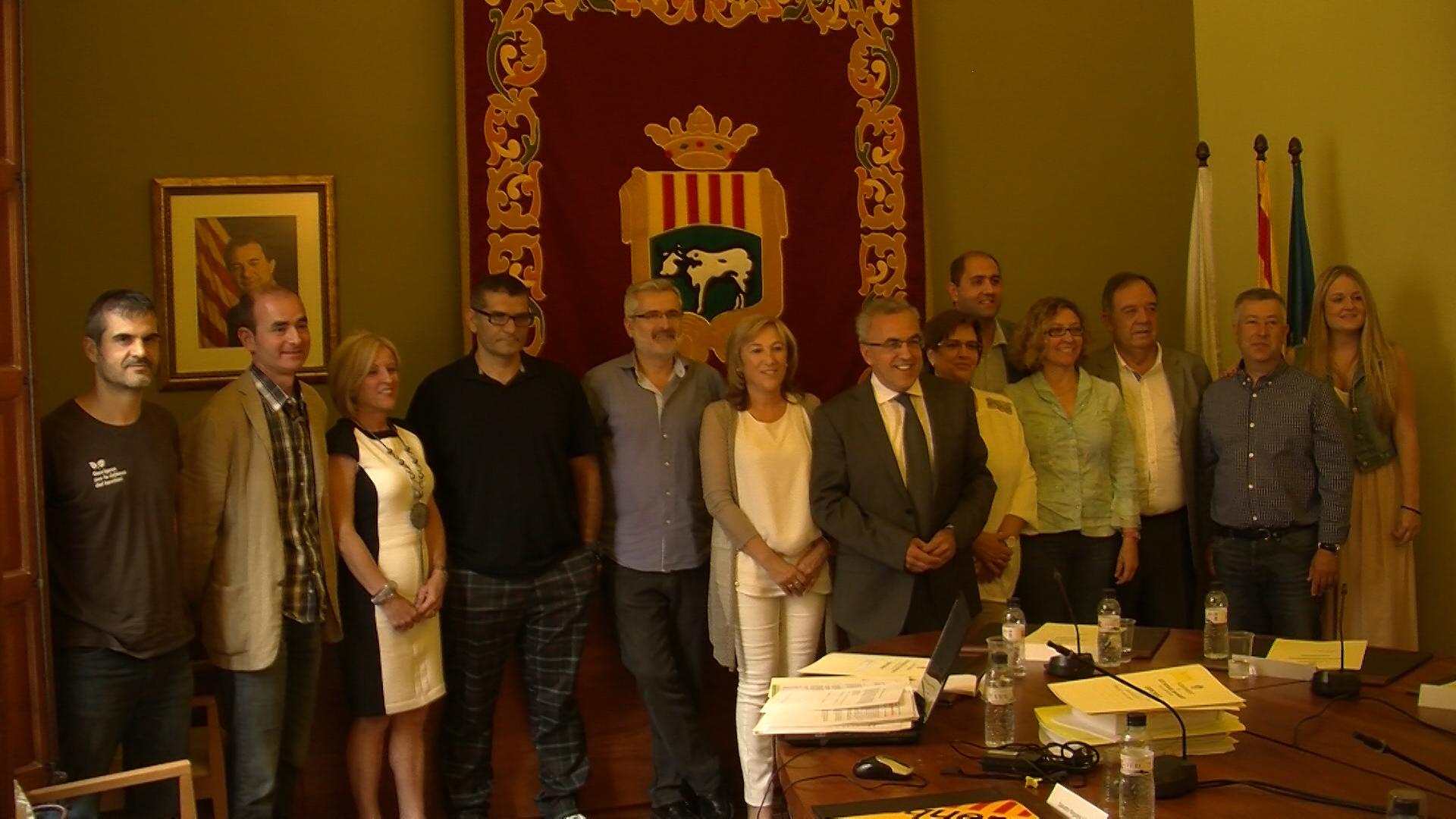 Les Borges inaugura una exposició per commemorar el 65é aniversari dels gegants del municipi