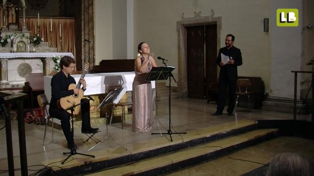 Concert de Maria Altadill, Abel Folk i Mikko Ikäheimo a Juneda