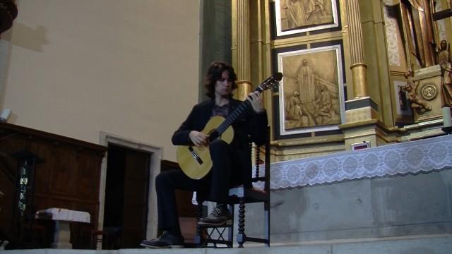 Concert de Bernat Padrosa a Arbeca