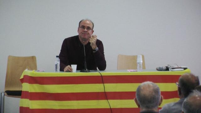 Conferència de l'escriptor Vidal Vidal