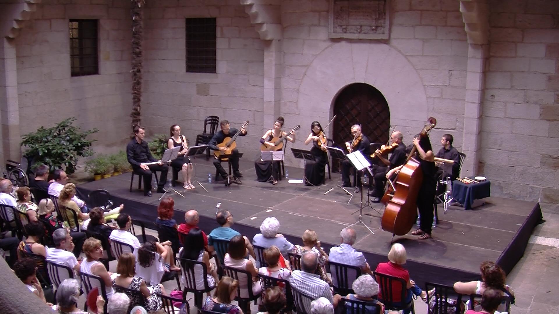 Inauguració de la 5a edició de Les Garrigues Guitar Festival