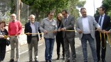 Inauguració de les obres de pavimentació del camí del Vilosell a Vallclara