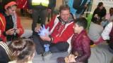 Tres metges del CAP de Les Borges han col·laborat com a voluntaris en un camp de refugiats
