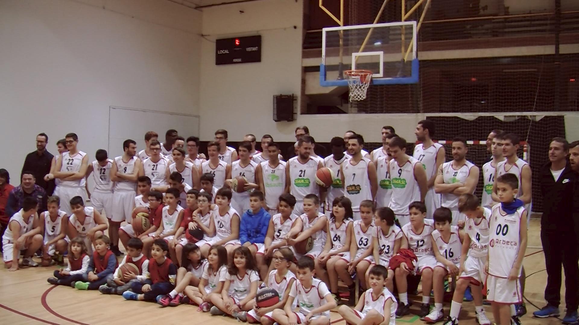 El Club Bàsquet Borges-Garrigues presenta els equips
