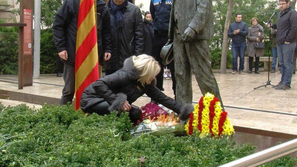 Les Borges Blanques ret homenatge a Francesc Macià