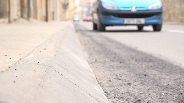 Obres de millora a diferents carrers de les Borges