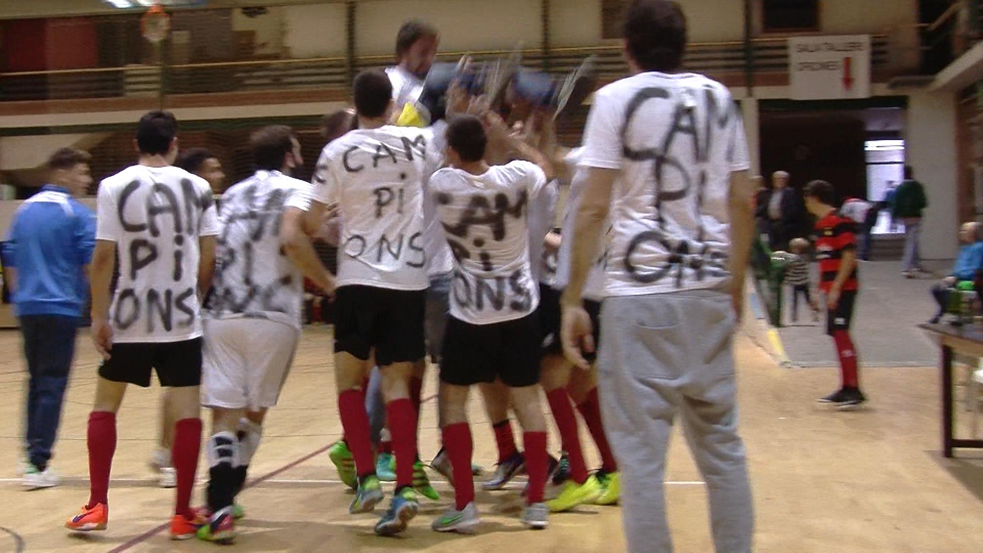 El FS Borges B guanya el Campionat Territorial