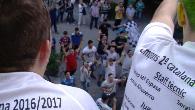 Crònica FC Borges – CF Linyola i actes de celebració de l'ascens