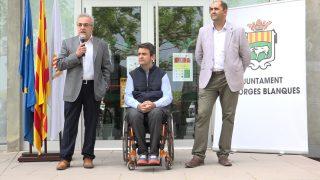 Inauguració de la primera edició de la Fira Borges Motor