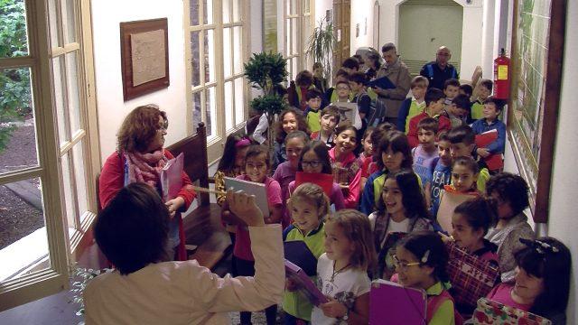 Els alumnes de l'escola Joan XXIII de Les Borges visiten l'Ajuntament