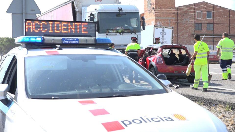 Nou accident mortal a l'N-240 al seu pas per Juneda