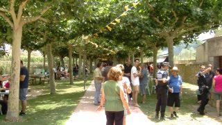 Festa de Sant Cristòfol a les Borges