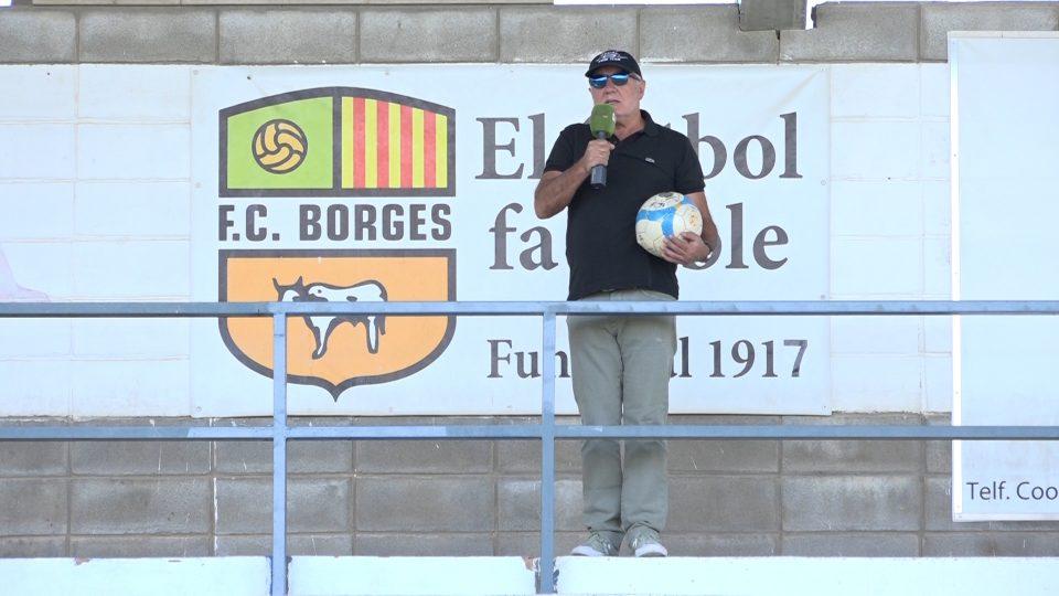 Presentació del partit amistós entre el FC Borges i el Lleida Esportiu