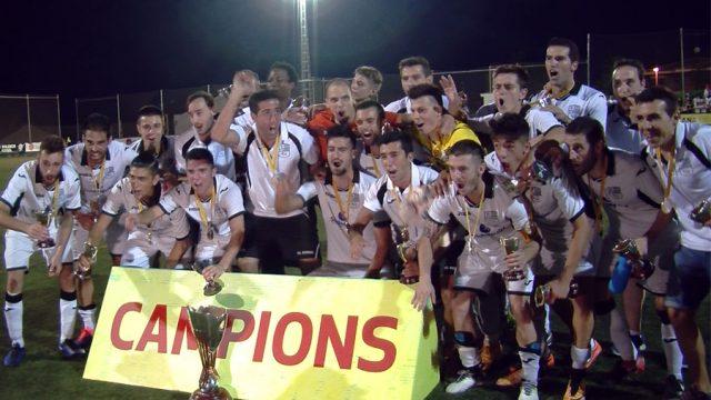 El FC Borges campió de la Copa Catalunya Amateur