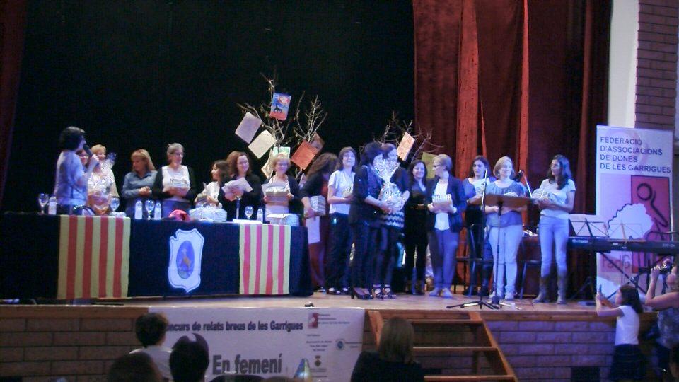 Lliurament de premis del 3r Concurs de relats breus de les Garrigues 'En femení'