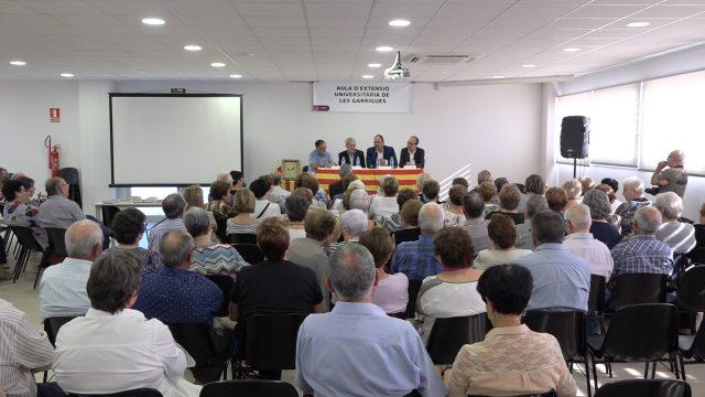 Inici de curs de l'Aula d'Extensió Universitària de les Garrigues