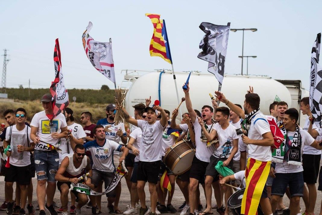 El grup de joves borges supporters organitza una festa - El tiempo les borges blanques ...