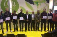 Els guardonats amb els premis als millors oli de la Fira 2018