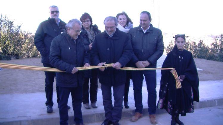 Inauguració del centre d'interpretació de la Guerra Civil a l'antic molí d'oli de Cal Gineret