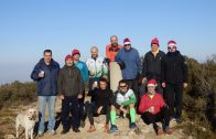 Membres del Club Atlètic Borges pugen als Bessons el dia de Nadal