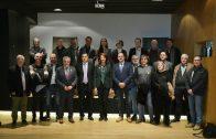 Participants al Dia de la Comarca de la 55a Fira de l'Oli i les Garrigues que ha encapçalat l'alcaldessa de Girona