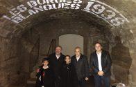 Reñé, Mir, Villas i l'hereuet i la pubilleta borgencs en la inauguració de l'antic Molí de Cal Gineret