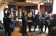 Visita del Celler Mas Blanch i Jové pels usuaris de la Biblioteca Joan Duch de Juneda