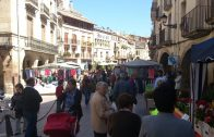 Mercat de dissabte a la Plaça de les Borges