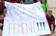 Les noies del Futbol Sala Borges Femení campiones de lliga