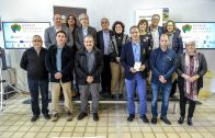 Un grup d'autocaravanistes catalans ha visitat les Borges aquest cap de setmana