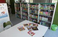 La sala infantil de la biblioteca municipal de les Borges preparada per a l'esdeveniment de la SuperNit