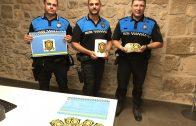La Policia Local de les Borges presentant la campanya #pelsvalents (2)