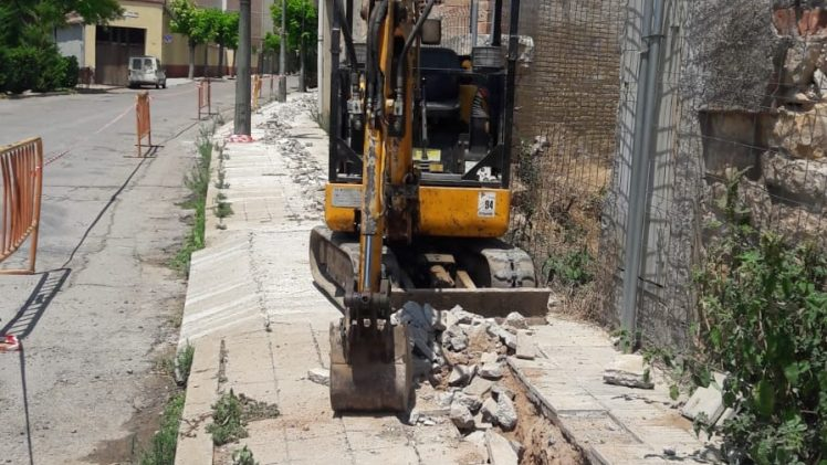 Comencen les obres de substitució de les canonades de plom a Juneda