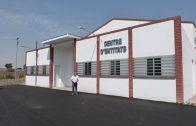 Enric Mir, durant la visita al nou Centre d'Entitats.