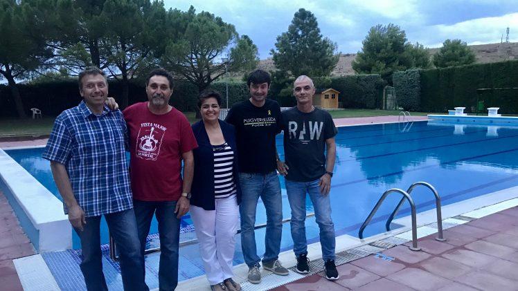 Renovació de l'acord entre Castelldans, Artesa de Lleida, Puigverd de Lleida, Aspa i l'Albagés per l'accés recíproc a les piscines