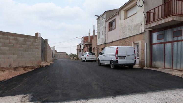 L'Ajuntament de les Borges millora el paviment de carrers i places del municipi aprofitant les vacances