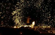 Nit de foc a la fortalesa dels Vilars d'Arbeca
