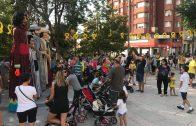 Les Borges apropa els gegants i els diables als infants i aplega 500 persones en el sopar popular