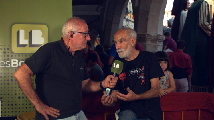 Entrevistes a diverses colles de la multitudinària 36a Trobada de Gegants, Grallers i Correfocs de les Borges