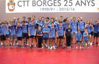 Empat del Borges Grup Vall davant l'Arteal TM