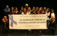 Les Garrigues contra la violència envers les dones