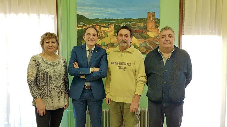L'Alcalde de Castelldans es reuneix amb el subdelegat del Govern a Lleida, José Crespín