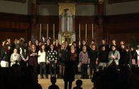 Representació del sisè i últim concert 'Dóna'm veu' per celebrar el 25è aniversari del Cor Euridice