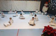 Els nens i nenes de la Llar d'Infants de les Borges durant la representació de Nadal. 2
