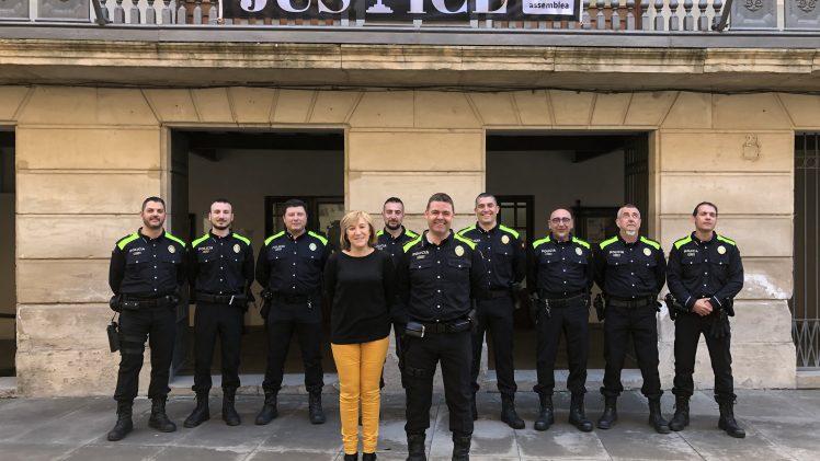 La Policia Local de les Borges estrena uniforme