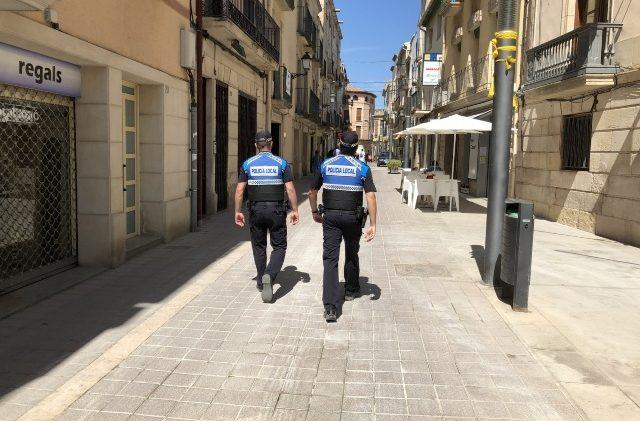 Detingut a les Borges un home amb una ordre de cerca i detenció