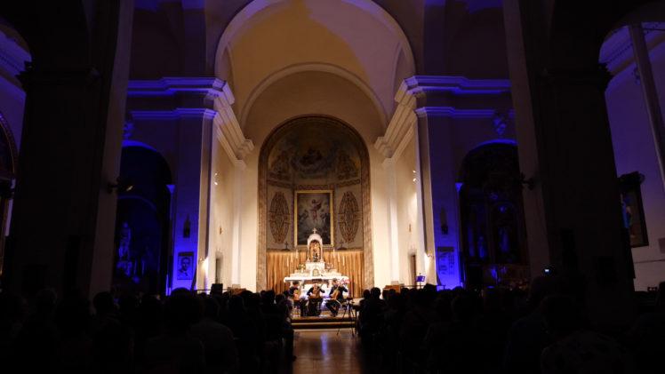 Concert del Salzburg Guitar Trio, a Juneda, en el VIII Garrigues Guitar Festival